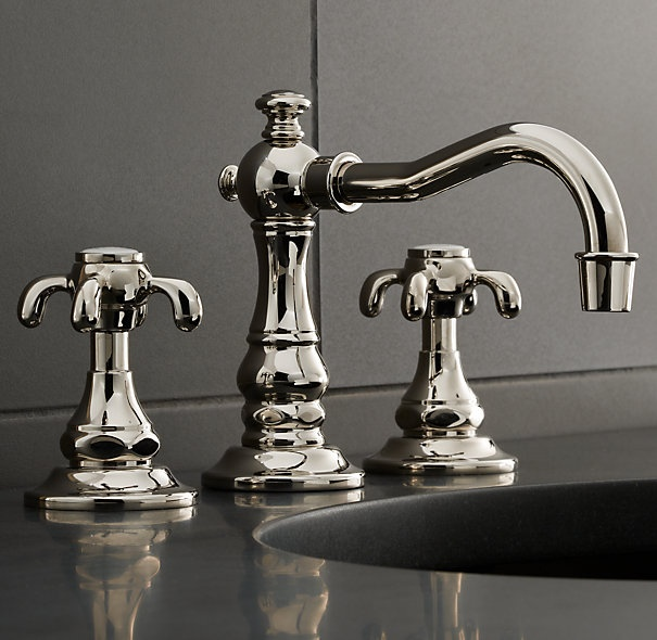 50 best faucets images on pinterest kitchen faucets for Restoration hardware bathroom faucets