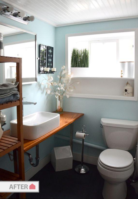 Antes y después. La transformación de un baño | Decorar tu casa es facilisimo.com