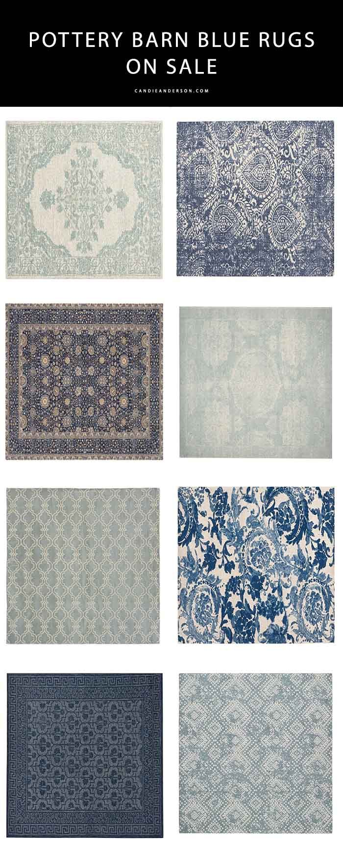 10 Trendy Blue Pottery Barn Rugs On Sale Rugs Pottery Barn