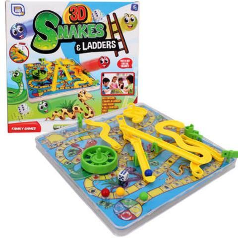 Game Snakes & Ladders 3D - 24 Units