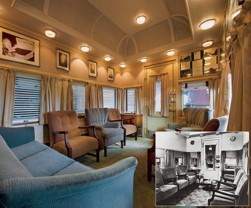 17 Best Images About Presidential Railcar Ferdinand