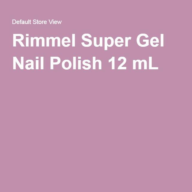 Rimmel Super Gel Nail Polish 12 mL
