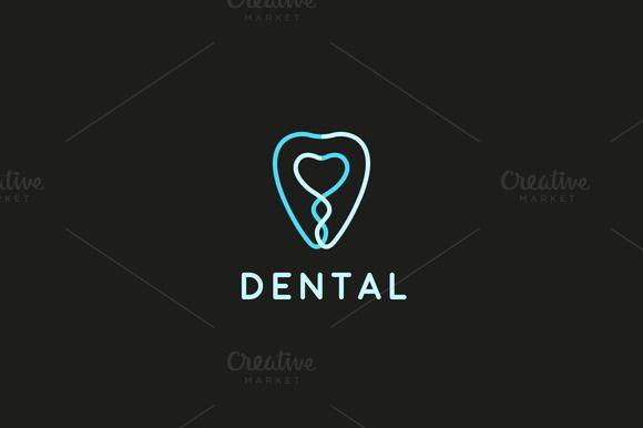 Tooth dental clinic logotype - Logos