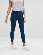 River Island – Molly – Jeans mit hoher Taille