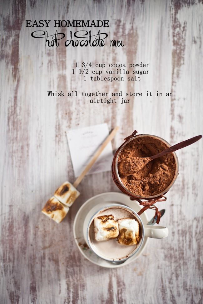 Easy Homemade Hot Chocolate Mix - Playful Cooking
