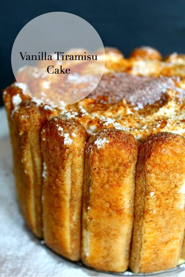 This vanilla tiramisu cake recipe is super easy and a sweet and elegant dessert perfect for any celebration.