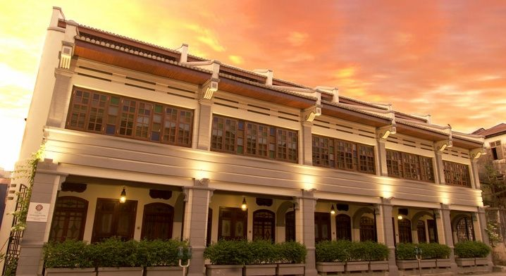 Hotel Penaga, Penang Converted from a cluster of pre-war terraces and shophouses into a boutique hotel located in the heart of Georgetown