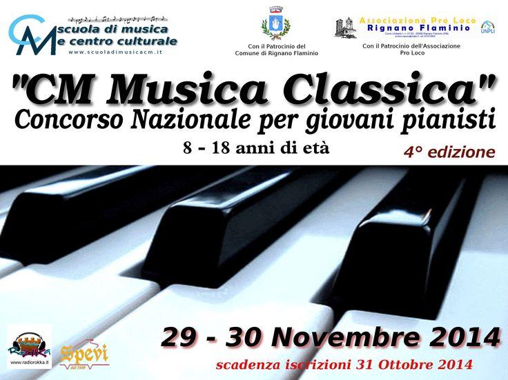 CM musica classica - concorso nazionale per giovani pianisti 4 edizione