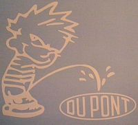 Calvin Pee on Dupont Decal http://www.customsense.com/calvin-pee-on-dupont-decal-p-318.html