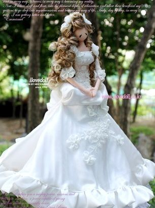 Анастасия Ковтонюк: бутик Текстильери: Свадебная подборка кукол Мечты. Часть 1