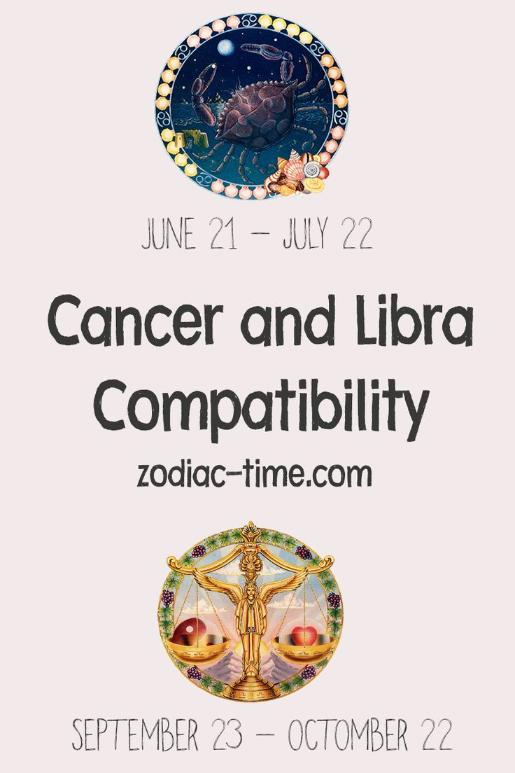 libra and cancer relationship compatibility