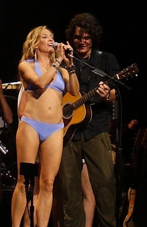 bikini concert Sheryl crow