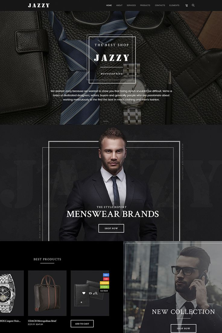 The Best Accessories Online Store #WooCommerce #template. #themes #business #responsive #WooCommercethemes