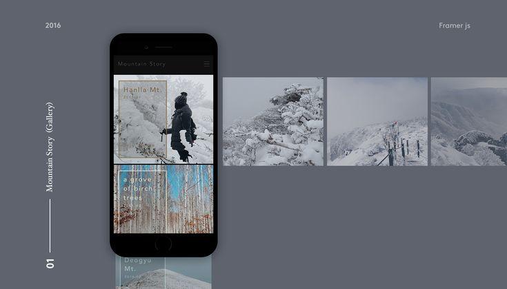 Framer js - Prototype #1 on Behance