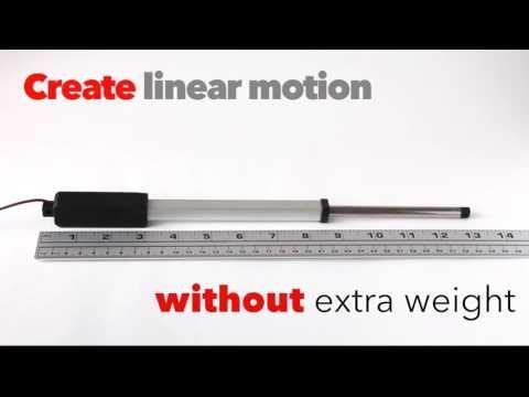 Morai Motion Inline Nexus Micro Linear Actuator 6 Inch Stroke