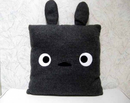 Cute Kawaii Totoro Anime Led Colorful Plush Pillow : 17 Best images about Totoro on Pinterest Studios, Howl s moving castle and Wood boxes