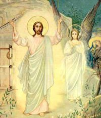 "Easter Monday: The Lord has risen from the dead, as he foretold. Let there be happiness and rejoicing for he is our King forever, alleluia. According to Moses and the prophets, Christ was to suffer all ""these things and so to enter into His glory"". And what was this ""glory"" which Christ merited by His sufferings and death? It was His resurrection, His ascension into heaven, His sitting at the right hand of the Father, the homage of all the nations. It was especially the glorification of His…"