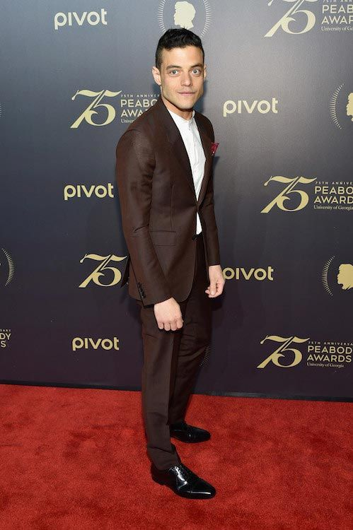 Rami Malek at the 75th Annual Peabody Awards Ceremony on May 20, 2016...