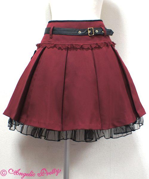 Angelic Pretty Elegant Army Dollスカート
