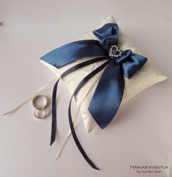 Ручная работа by natulja-best: Подушечка для колец \ Pillow for rings