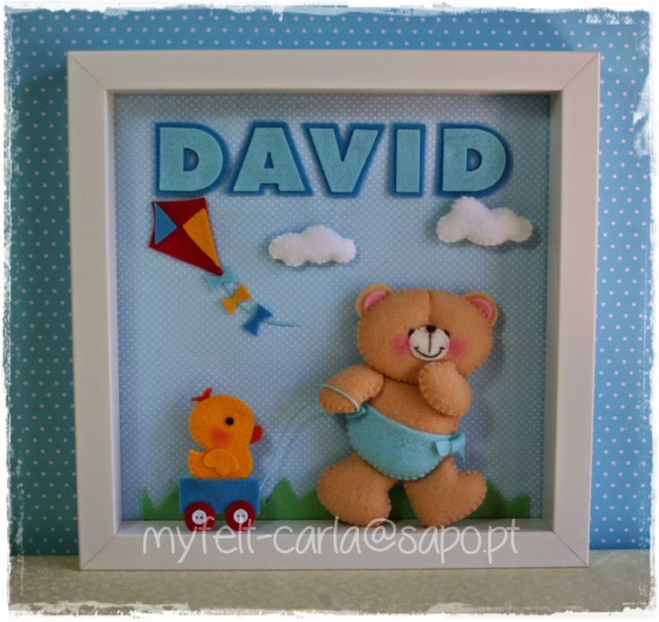 Para o David!