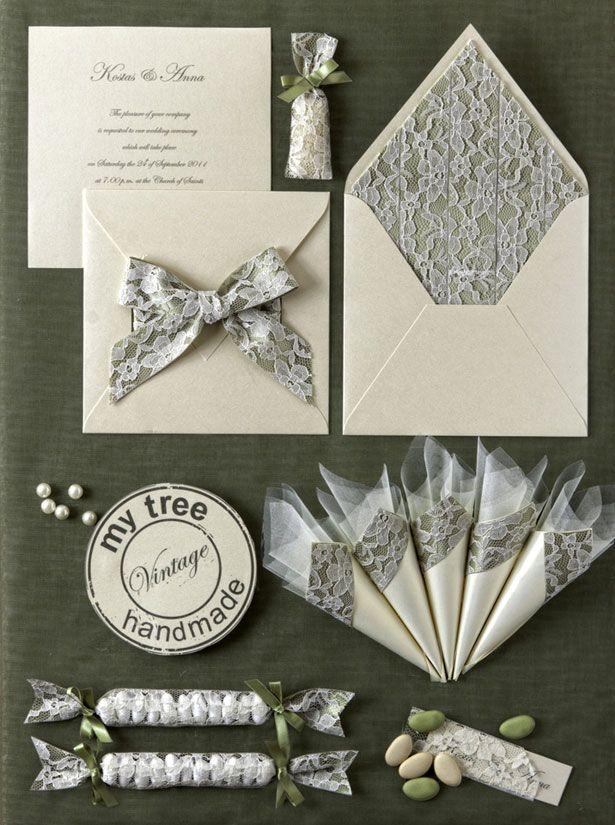 Υπέροχα προσκλητήρια και μπομπονιέρες γάμου