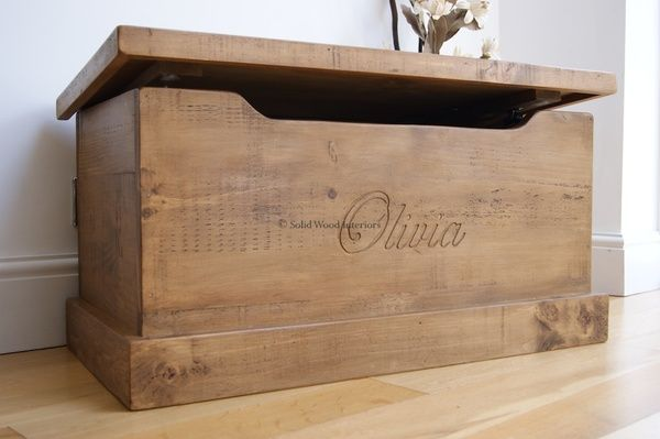 Wooden Toy Chest.....my son so needs one