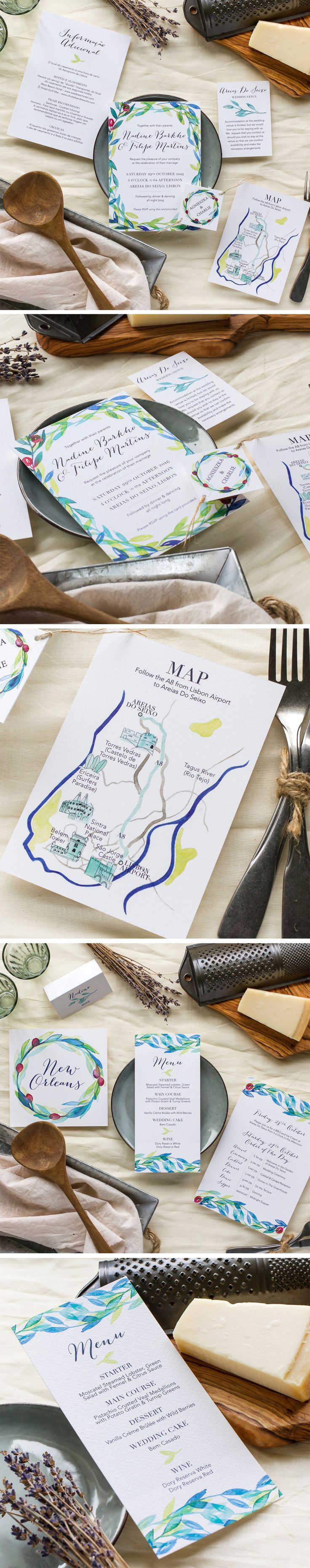 Die besten 25 Wedding invitations with maps Ideen auf Pinterest