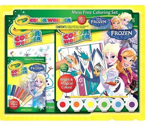 Disney Frozen Crayola Color Wonder Mess-Free Coloring Set ...