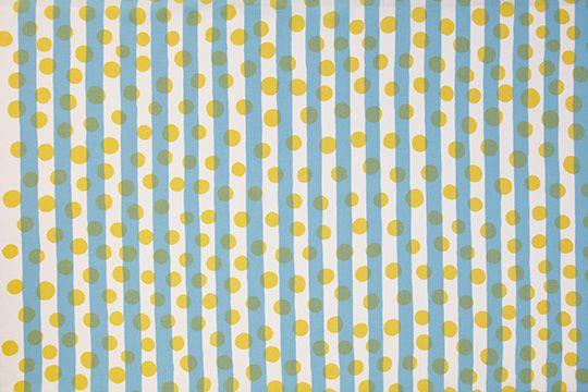 printmaking, pattern, design, print, polka dot, stripe, classic, repeat, colour, yellow, blue