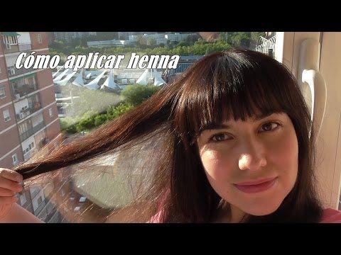 Cómo aplicar henna - YouTube