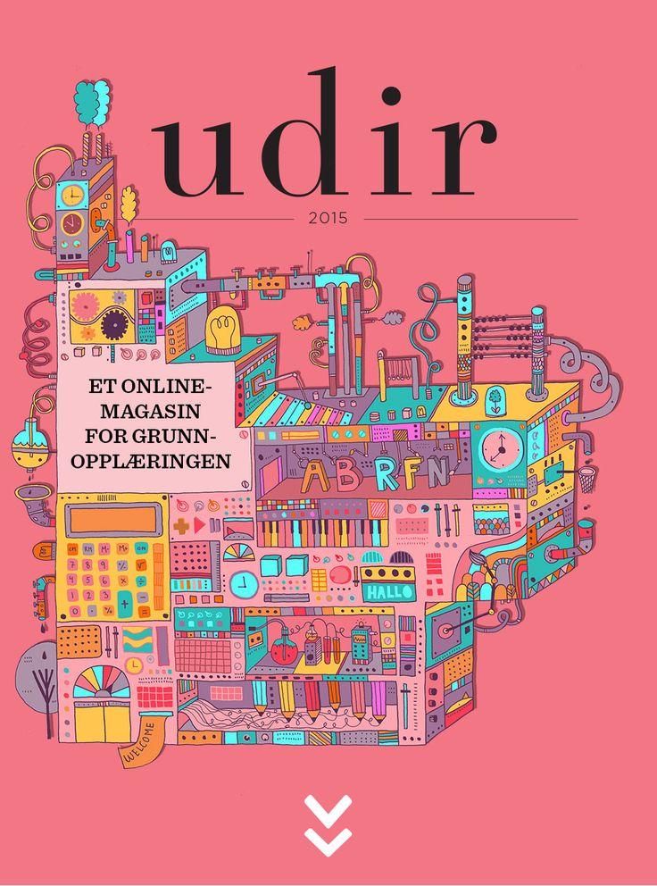 Udir-magasinet   Et online-magasin for grunnopplæringen