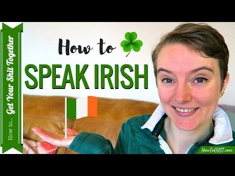 Learn how to Speak Irish for St. Patrick's Day ☘️ | HowToGYST - YouTube