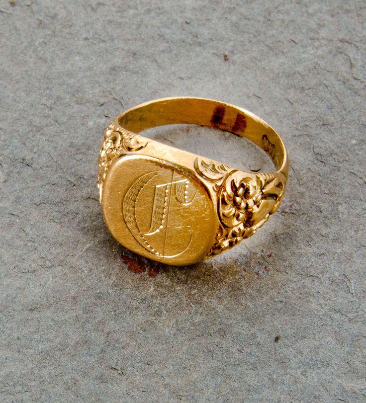 Initials Ring Jewelry