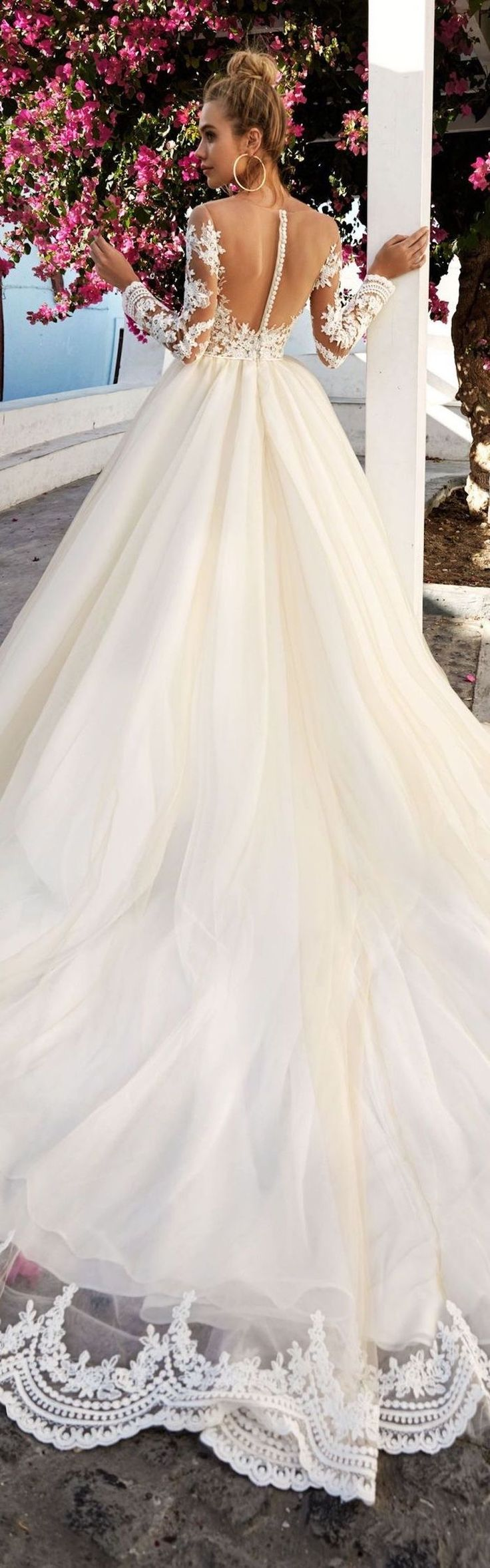 wedding dress hire cape town northern suburbs%0A the back and train is everything    best wedding dresses    Eva Lendel Wedding  Dress Collection