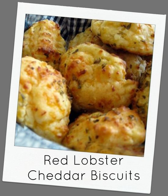 Red Lobster Cheddar Biscuits--recipe linked!