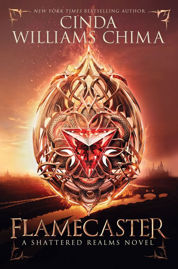 #CoverReveal Flamecaster (The Shattered Realms, #1) by Cinda Williams Chima