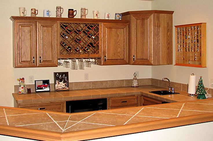 11 best images about kitchen counter designs on pinterest for Tile bar top ideas