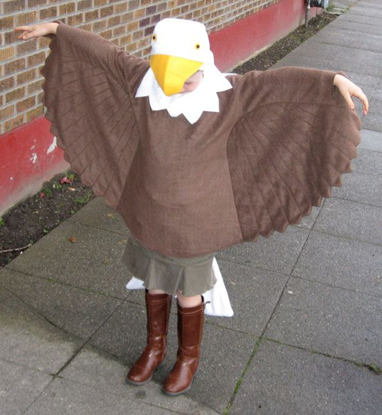 Eagle Costume for my friend's daughter by RhinestoneRagdoll.deviantart.com on @deviantART