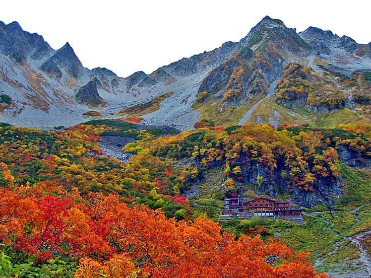 涸沢の紅葉03 - 山楽ぶらり探訪 Karasawa Japan