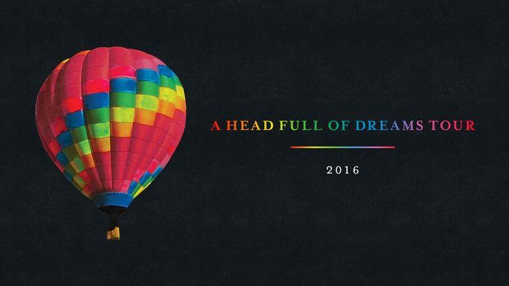 Coldplay A Head Full Of Dreams Tour 2016 Rainbow Hot Air Balloon