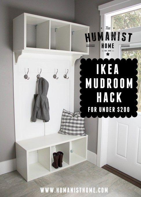 https www.hometourseries.com garage-storage-ideas-makeover-302 - Best 25 Ikea hack bench ideas on Pinterest