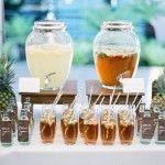 Barra de bebidas exóticas y cócteles para boda: lo que no puede faltar!
