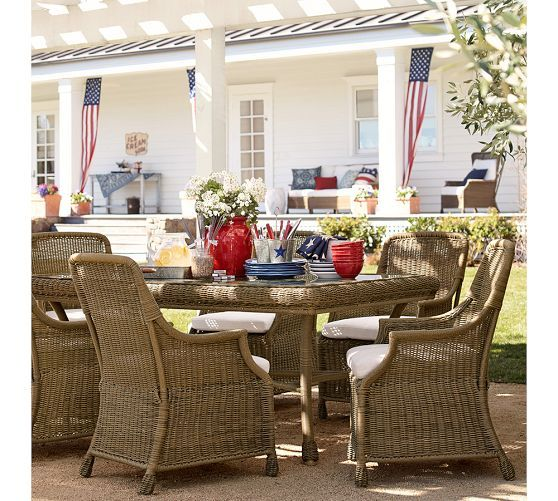 Ready for Memorial Day. | Pottery Barn
