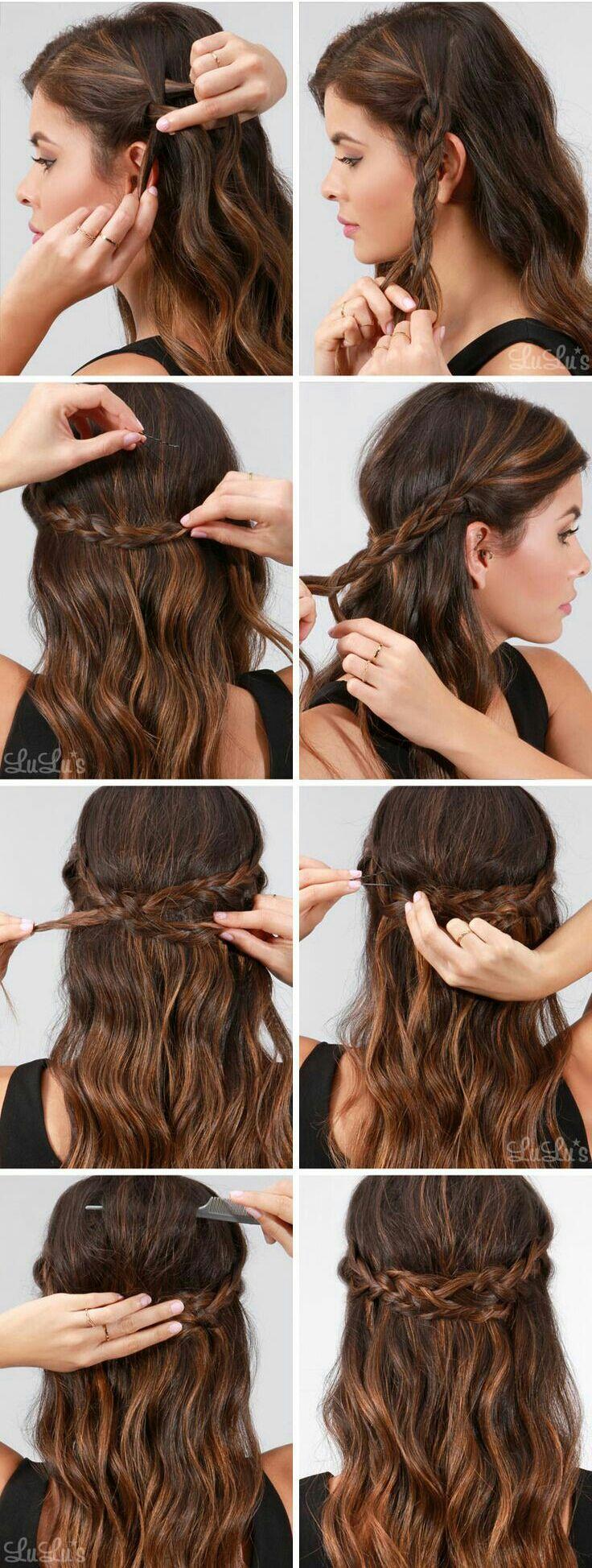 los peinados fciles ideales para cualquier ocasin logrars hacerlos en tan slo unos