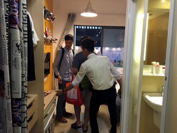 micro logement en Chine à louer centaines euros #maison #home