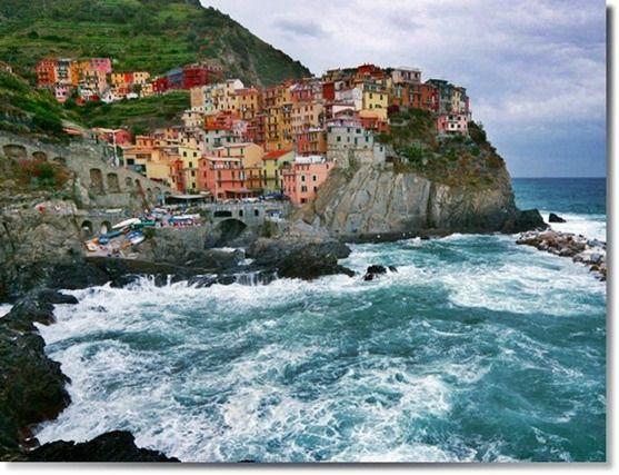 Town of Manarola, Cinque Terra, Italy