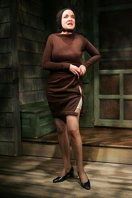 Christine Abersole as Little Edie on Broadway, 2006