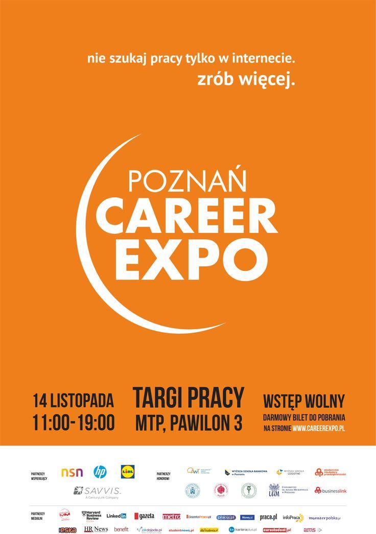 Główny plakat jesiennej edycji Poznań Career EXPO 2013