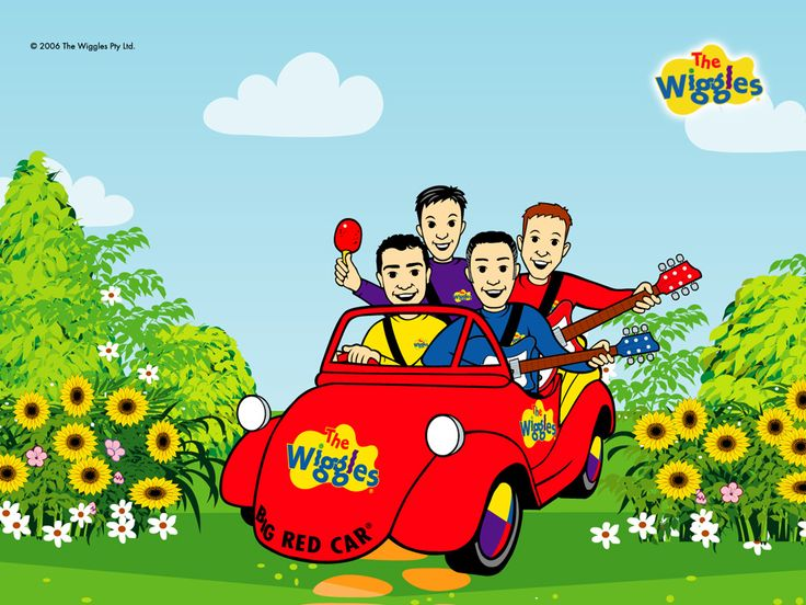 The Wiggles Big Red Car - the-wiggles Wallpaper